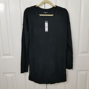 Kenneth Cole black thermal sweater NWT